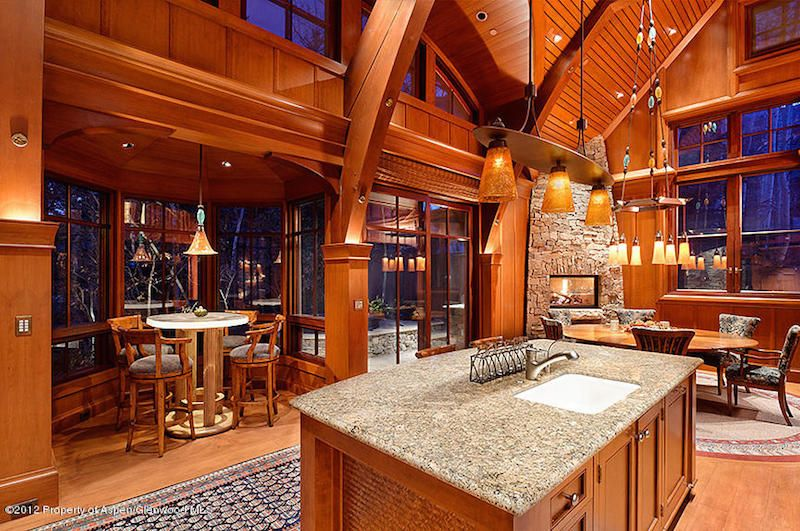 Roaring Fork Masterpiece – $12,950,000   Pricey Pads