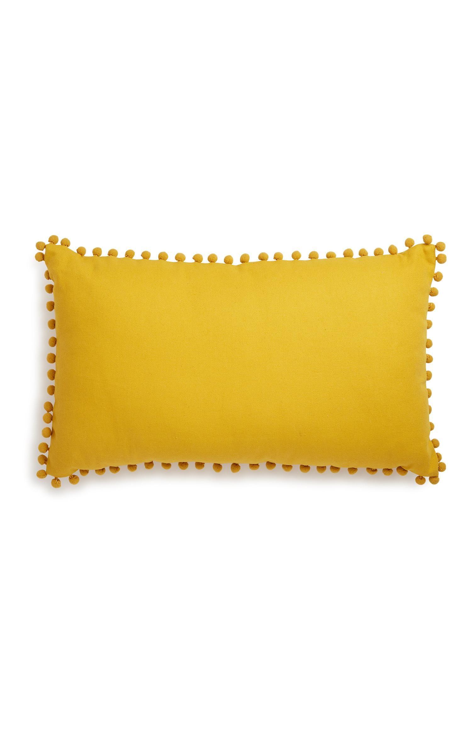 Cojines Hogar | amarillo | Kiabi