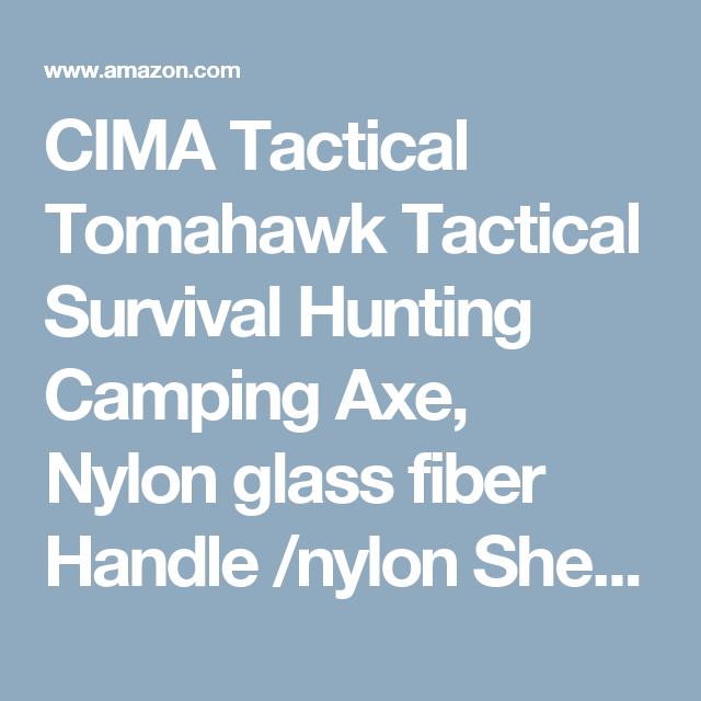 CIMA Tactical Tomahawk Tactical Survival Hunting Camping Axe