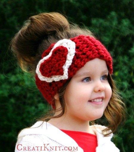 The Cupid Head Warmer Free Knitting Pattern Also a Crochet Pattern ...