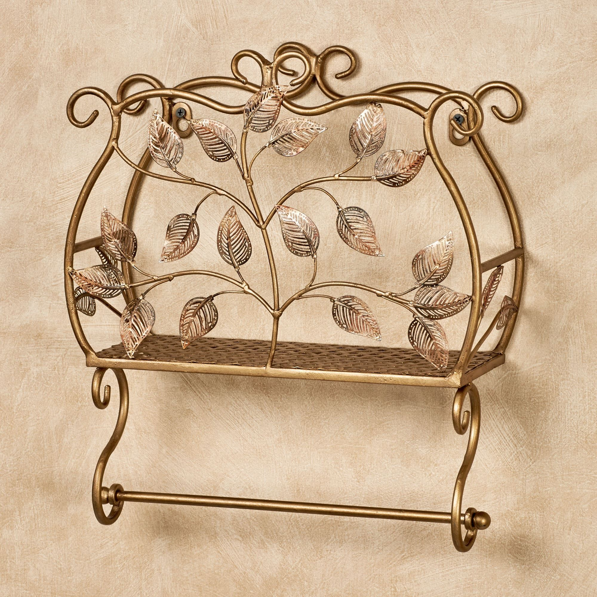 Eden Wall Toilet Paper Holder And Magazine Rack Toilet Paper Holder Garden Wall Decor Wrought Iron Furniture