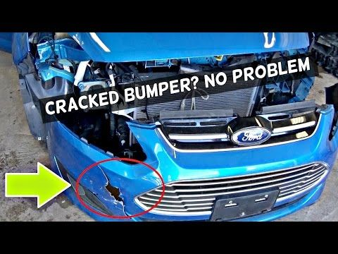 How To Fix Cracked Bumper Cover Amazing Results Youtube