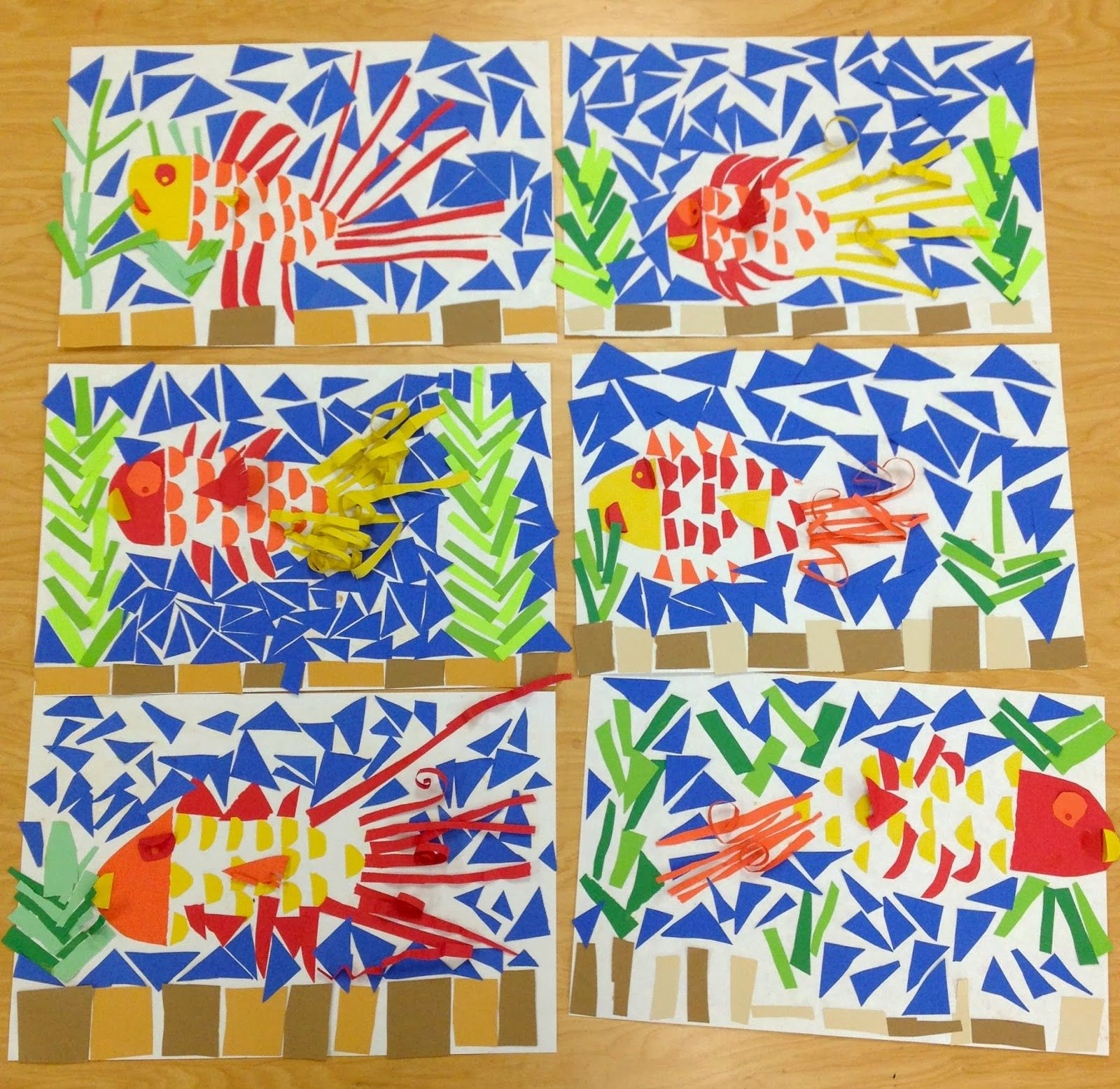 2nd Grade Mosaics in 2020 | Art lessons elementary, Art ...