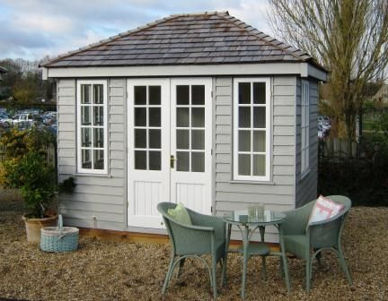 summerhouse ideas on Pinterest | Wooden Crate Shelves, Side Wall ...
