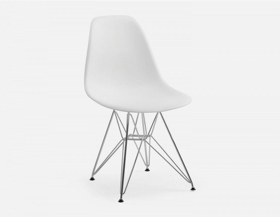 EIFFEL Chaise avec base en métal