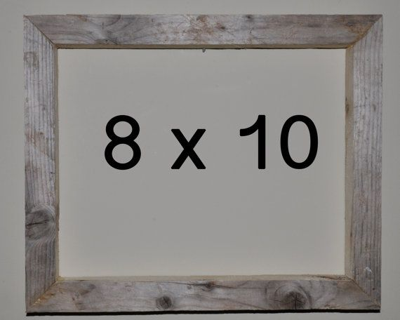 8 x 10 Driftwood Picture Frame 277 by DriftwoodMemories on Etsy, $29.95