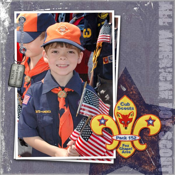 Boy Scout Scrapbook Page Layouts Allamericanboyscout1x1
