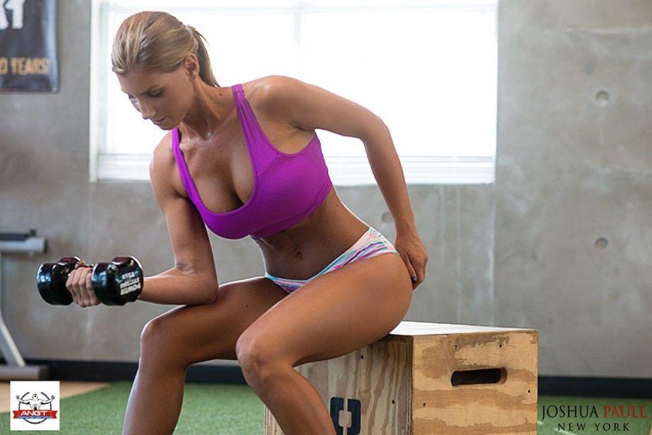 Erotic female sports trainers