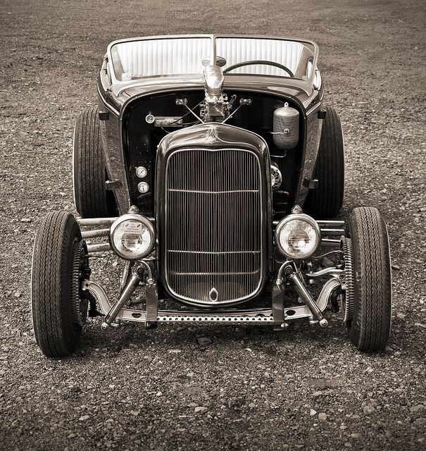 1932 Flathead Ford Hi Boy Roadster