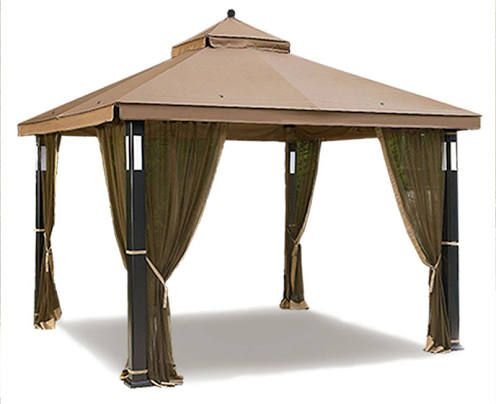 lighted outdoor canopy  sc 1 st  Pinterest & lighted outdoor canopy | Home decor | Gazebo replacement canopy ...