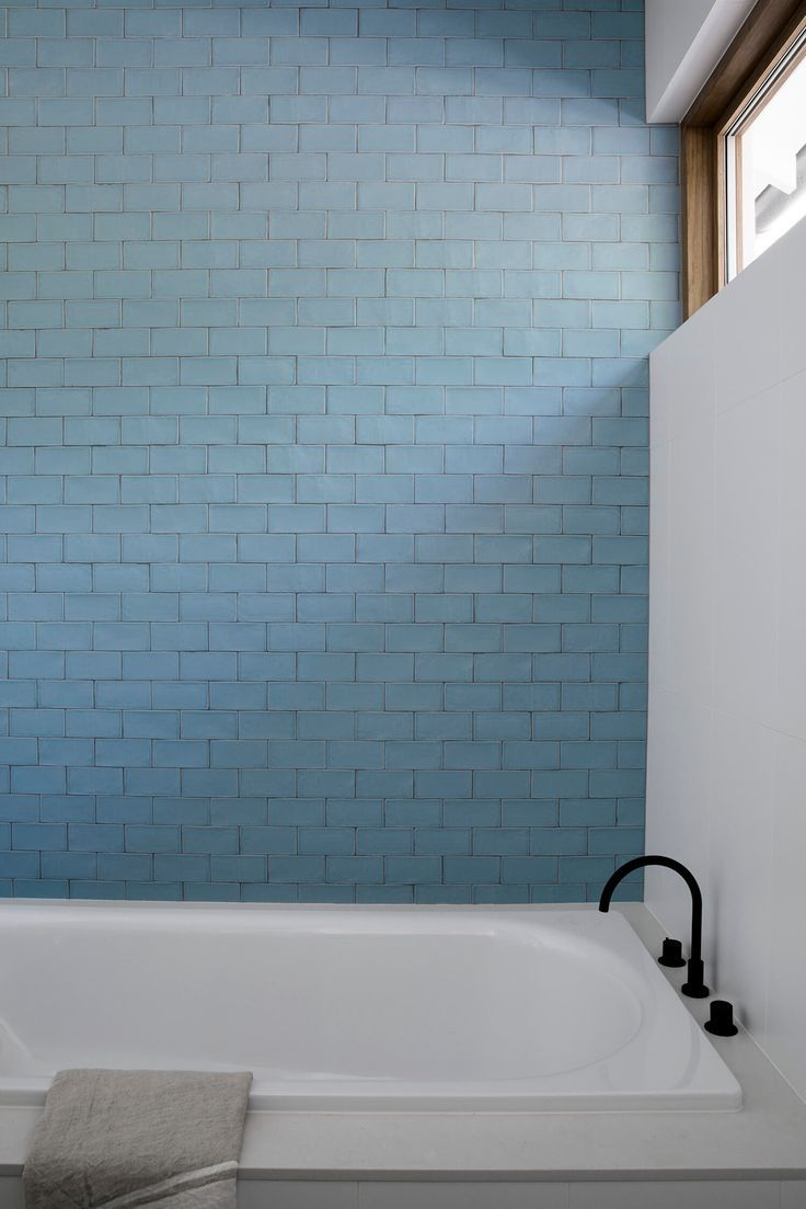 Bronte House by Kate Bell Design   Bronte house, House and Blue tiles