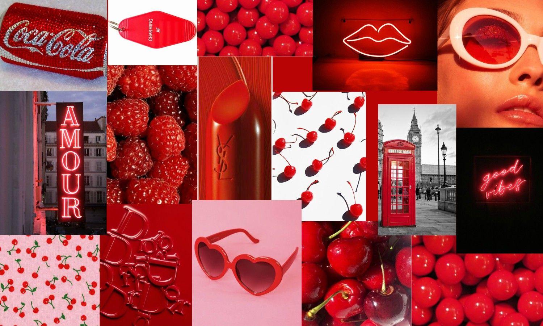 Red Computer Wallpaper Aesthetic Desktop Wallpaper Computer Wallpaper Cute Wallpapers For Computer