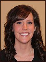 Dental Hygienist Ashley helps patients attain optimal dental health at Fall Creek Dentistry.