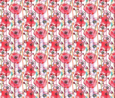 Watermelon Punch fabric by sara_berrenson on Spoonflower - custom fabric