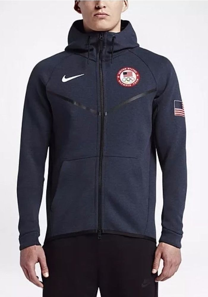 Nike Tech Fleece Windrunner Team USA Jacket Olympics Size