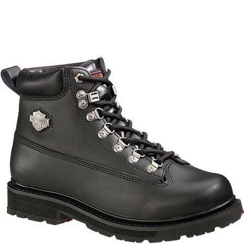 b77a353835f3 Harley-Davidson Wolverine Men s Drive Motorcycle Steel Toe Black Boots