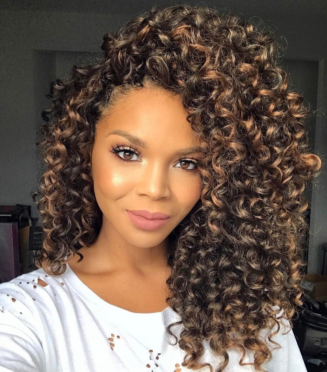 crochet braids with human hair curly