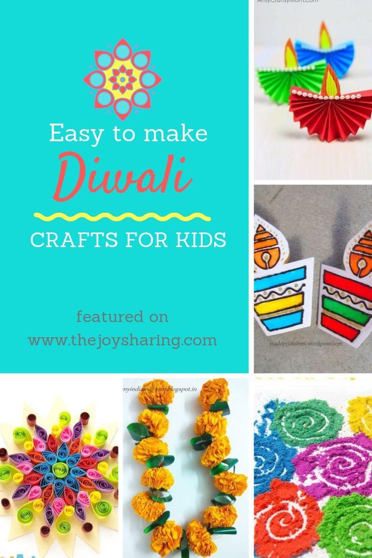 Easy Diwali Crafts for Kids