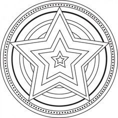 website with free mandala designs to color to calm students down