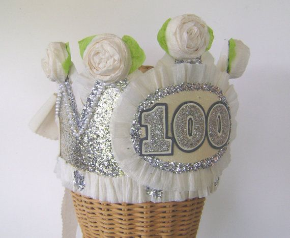 100th Birthday Party Crown