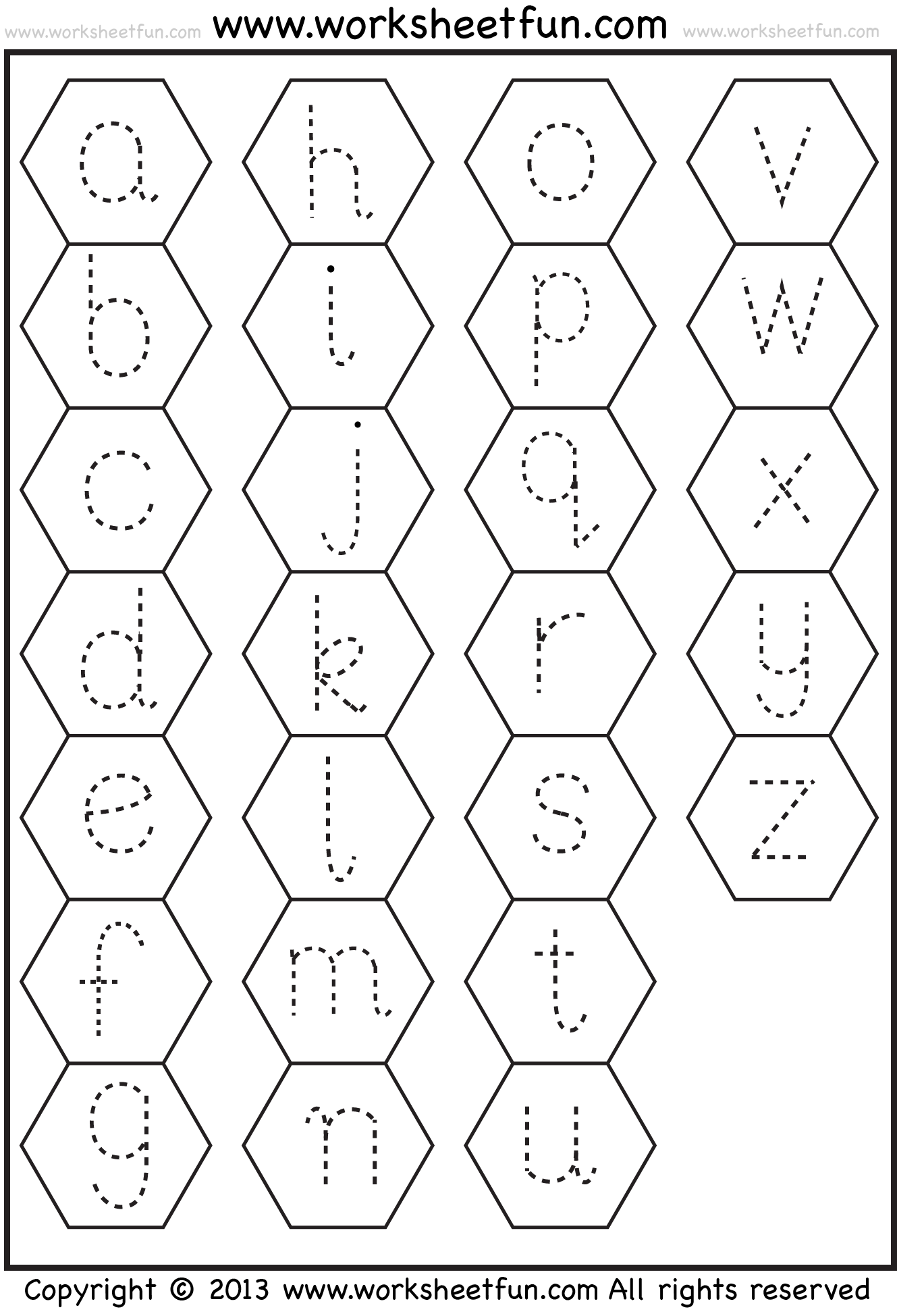 Small Letter Tracing