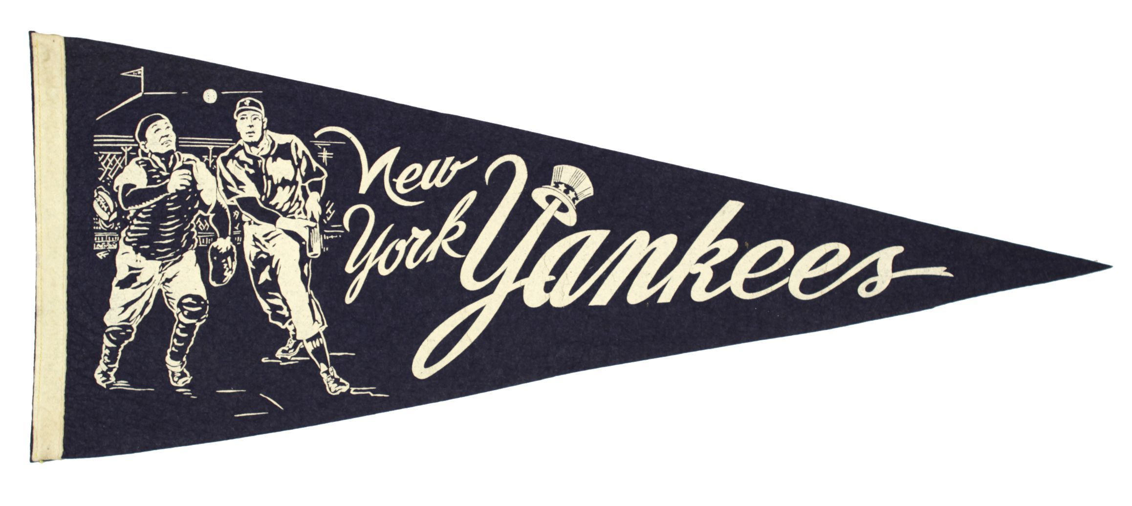 The New York Yankees Dominated The Mlb In The 1950 S They Won 6 Out Of The 10 World Series Of That Decade They Also New York Yankees American League Pennant
