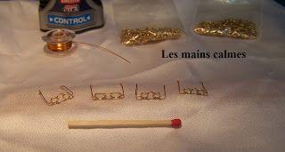 les mains calmes: Lunettes miniatures