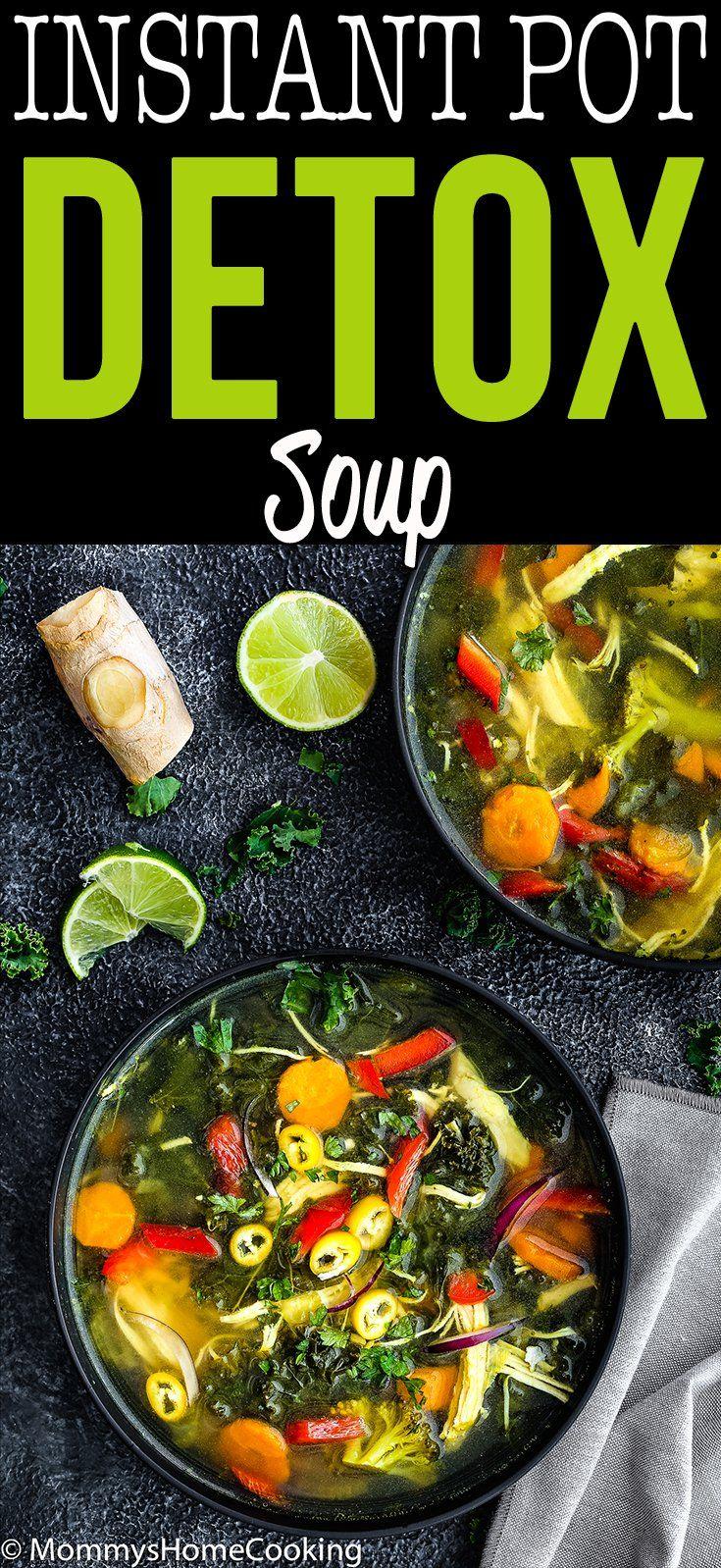 Easy Instant Pot Detox Soup Recipe