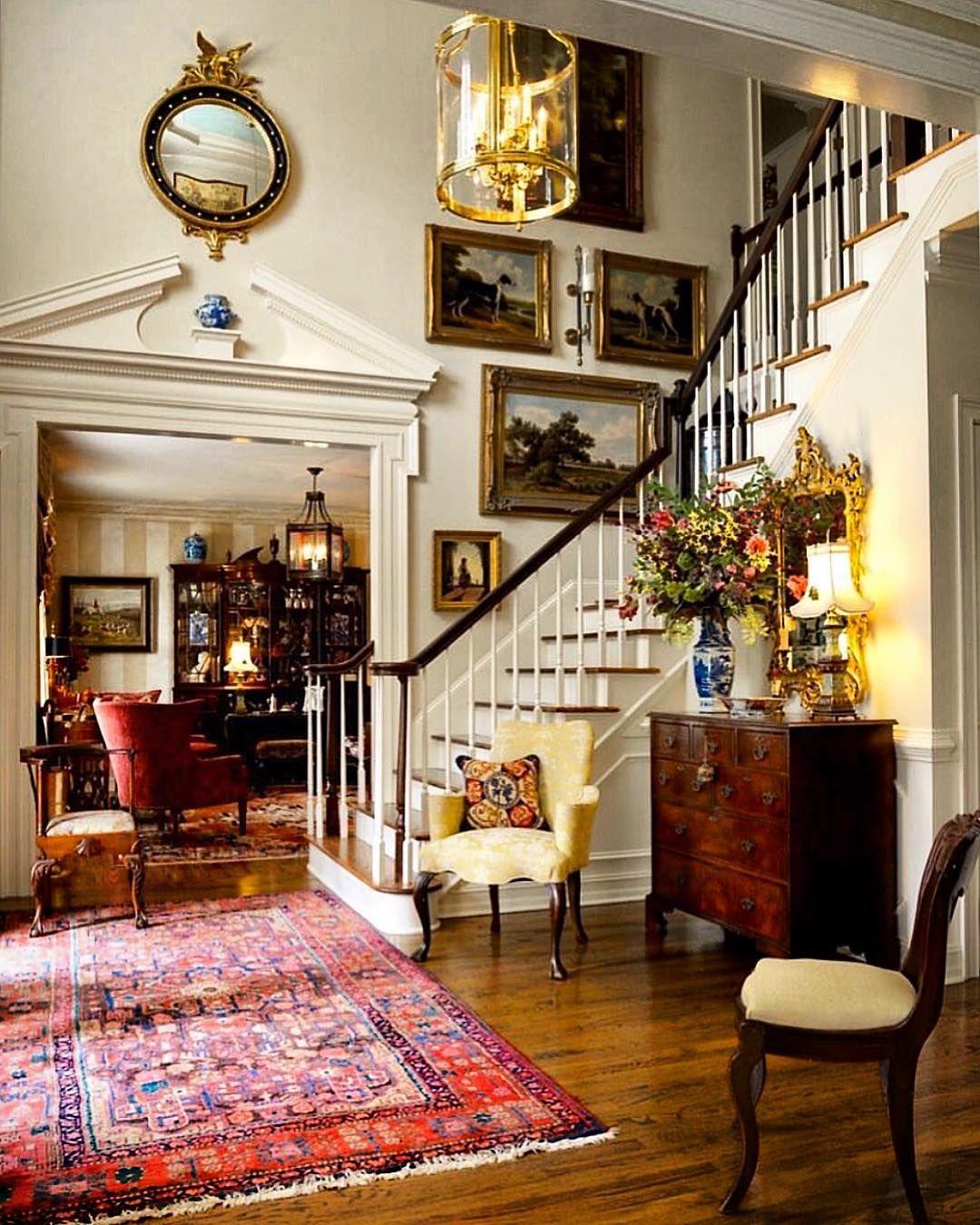 Homedecor Com: Foyer 🌹 @sikesdavisinteriors Via @secretsofahostess 🦋
