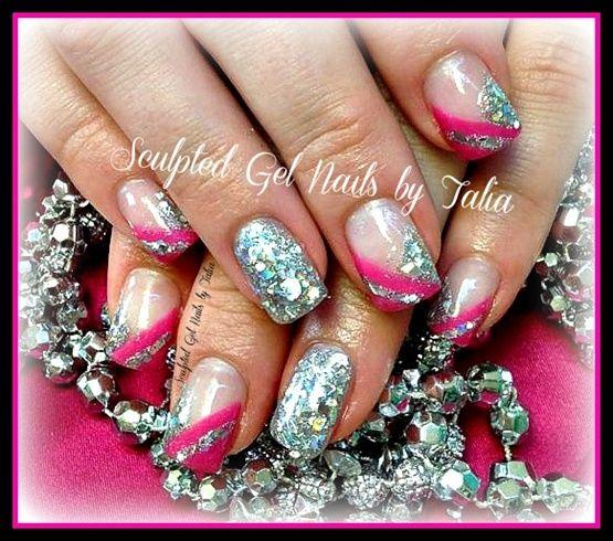 Pink Princess by gelnailzbytalia - Nail Art Gallery nailartgallery.nailsmag.com by Nails Magazine www.nailsmag.com #nailart