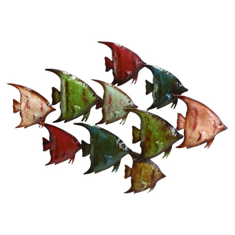 Uma 26 metal fish wall decoration beyond the rack home uma 26 metal fish wall decoration beyond the rack amipublicfo Image collections