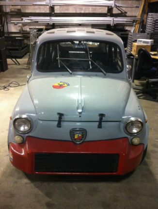 Paper Trail 1963 Fiat Abarth 850 Tc Nurburgring Fiat Abarth