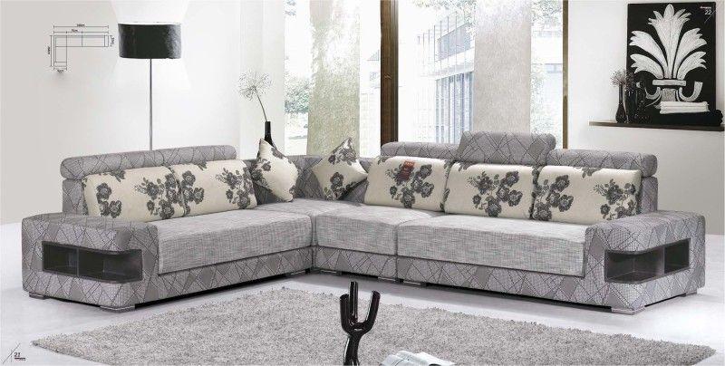 lshape modern fabric sofa corner