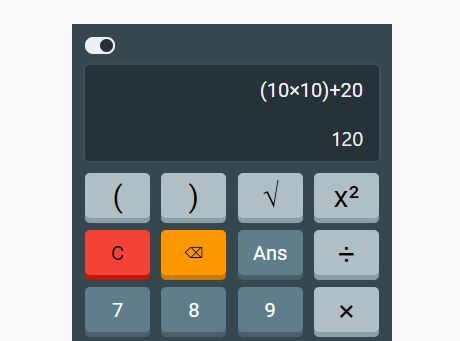 Minimal Calculator App With jQuery And Bootstrap 4 | Calculator and App