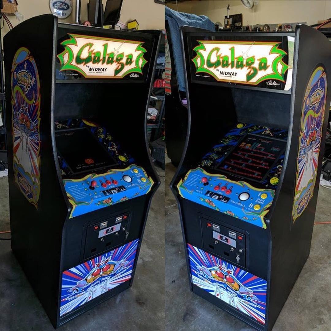 New GALAGA Arcade Cabinet CPO