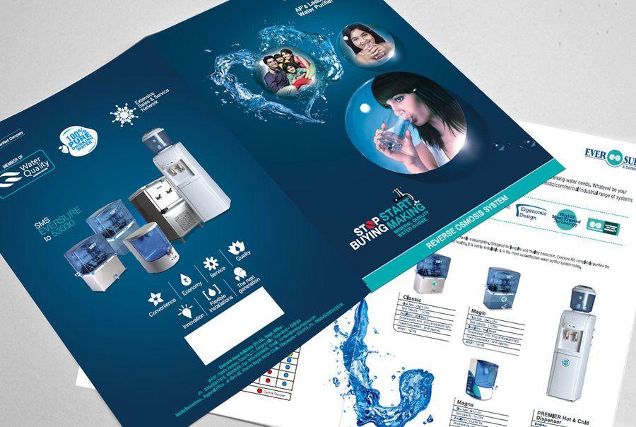 Corporate Consturction Brochure Design Example