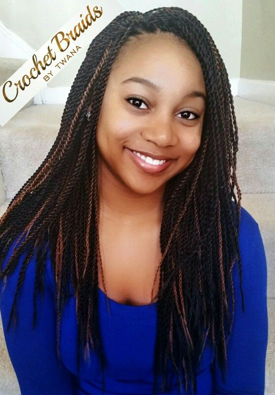 Crochet Braids With Freetress Micro Senegalese Twist 5 Packs In Colors 4 Tt30
