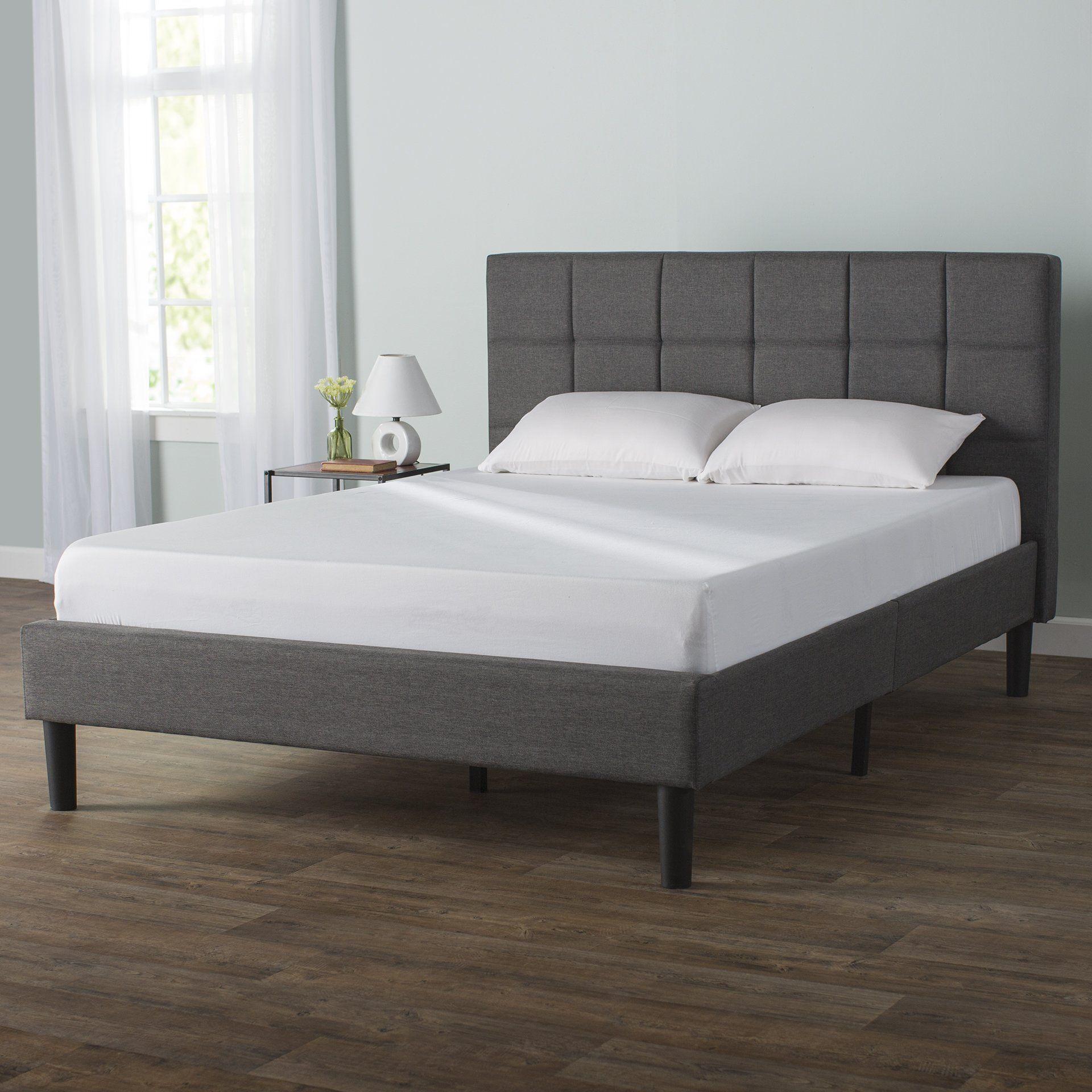Colby Upholstered Platform Bed Upholstered platform bed