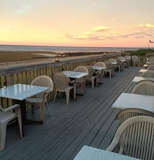 Horizons On Cape Cod Bay Waterfront Restaurant 98 Town Neck Sandwich Ma