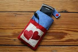 Video-Handytasche mit Vordertasche für Kopfhörer nähen