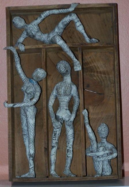 Sculpture par Anne-Frédérique Ferret (France) | Artmajeur