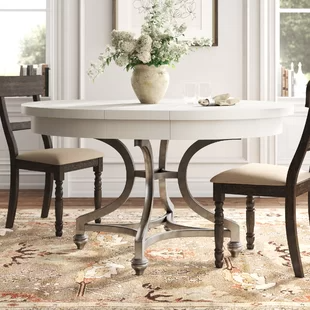 White Kitchen Dining Tables You Ll Love In 2020 Wayfair In 2020 Dining Table Extendable Dining Table Dining Table In Kitchen