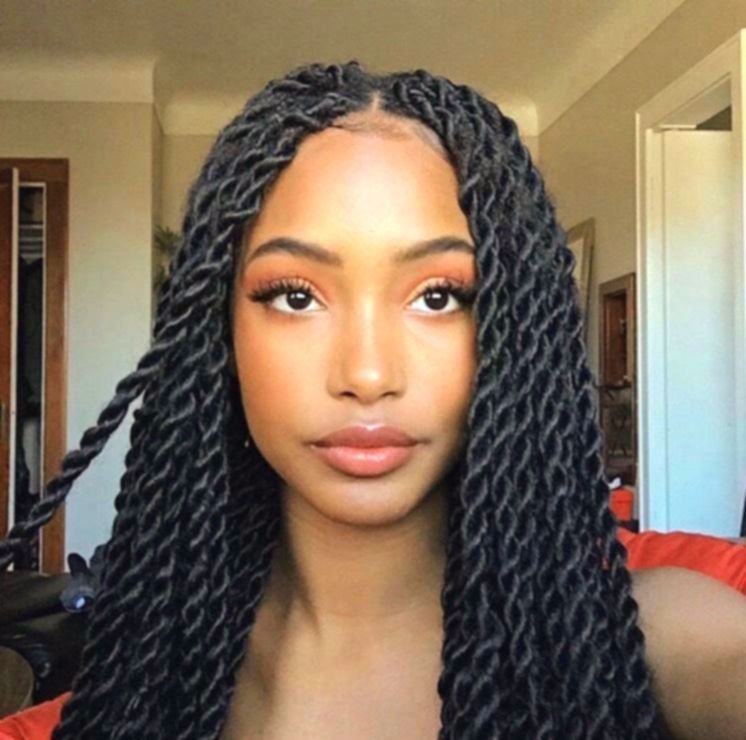 10++ Coiffure afro vanille twist des idees