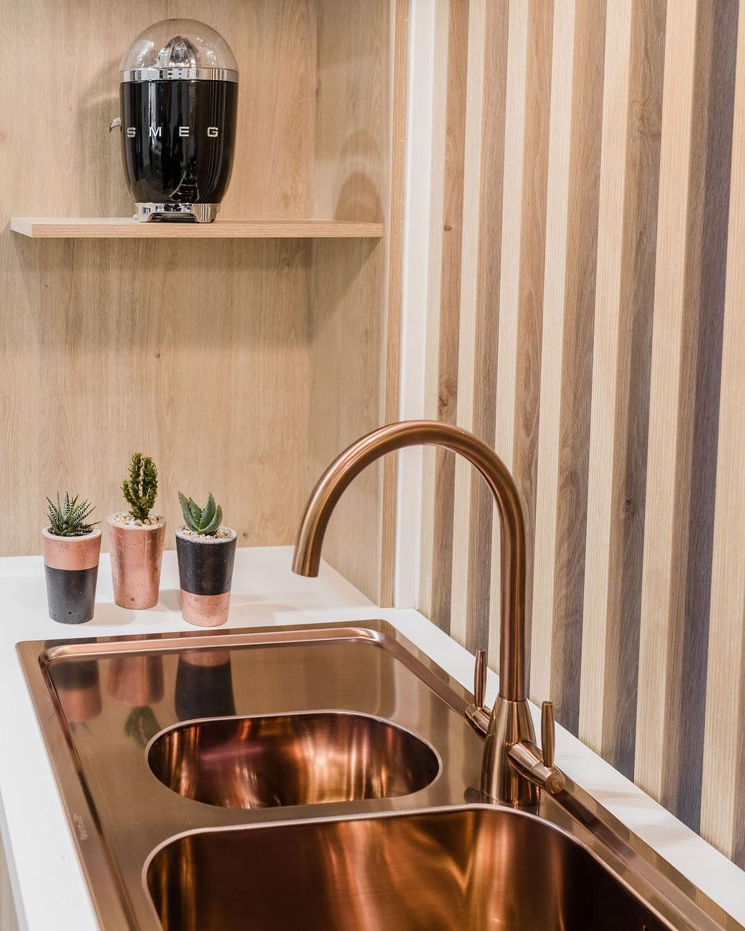 Copper Coloured Sink And Tap Copper Kitchen Accessories Copper