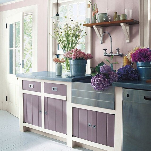 Wandfarbe Schlafzimmer Lavendel Pin By Susan Story Whitaker On Cottage Bungalow | Mauve ...