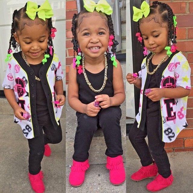 Paris • African-American, Irish And Italian • Toddler Girl