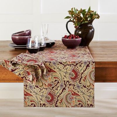 Lenora Paisley Runner #williamssonoma