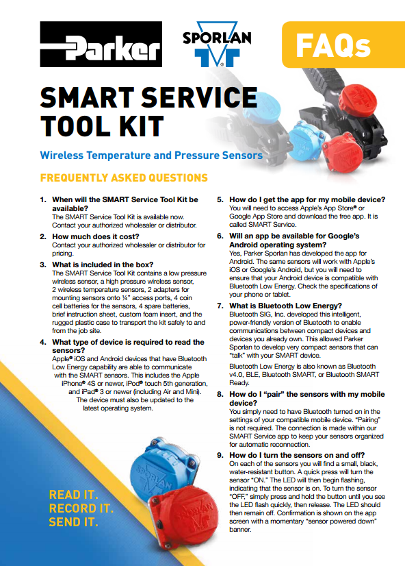 34 Frequently Asked Questions on the Smart Service Tool