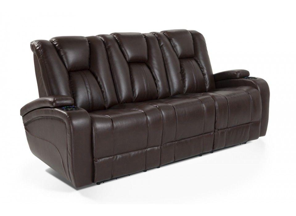 Awesome Chandler Power Reclining Sofa   Bobu0027s Discount Furniture