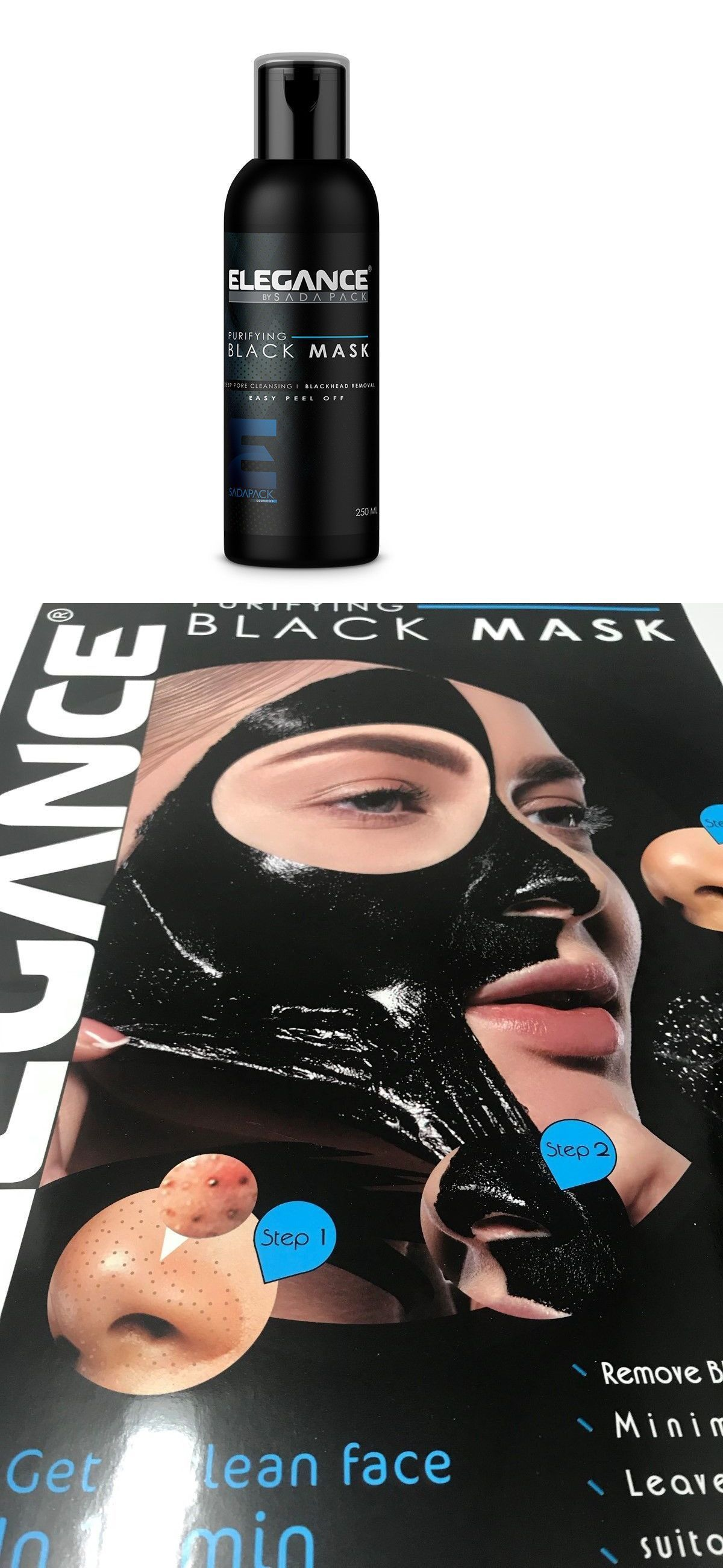 Photo of Masks and Peels 21022: Elegance Purifying Deep Pore Black Head Cleansing Easy Pe…